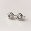 Diamond-Accented Earrings