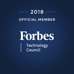 2018 Forbes Technology Council Official Member