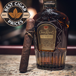 Crown Royal Reserve Paired With a Cigar