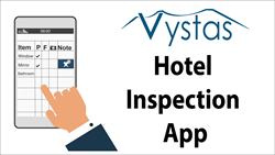 iPhone, iPad and Android inspection app for hotel guestroom inspection