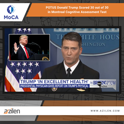 Azilen Feels Proud to be Technology Partner for MoCA Solutions the Test POTUS Donald Trump Opted for Recently