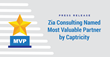 Zia Consulting Named Most Valuable Partner by Captricity