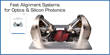 Optics & Silicon Photonics Alignment: New Catalog, Product Showcase at Photonics West