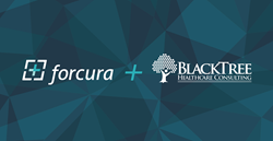 Forcura and BlackTree Healthcare Consulting Logos