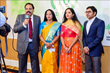 Santhigram Founders Dr. Gopinathan Nair and Dr. Ambika Nair with its Partner of Dallas Center Ms. Sangeetha and Partner of Naperville Center Mr. Lingaiah