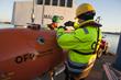 OFG Technicians prep AUV Chercheur for operations