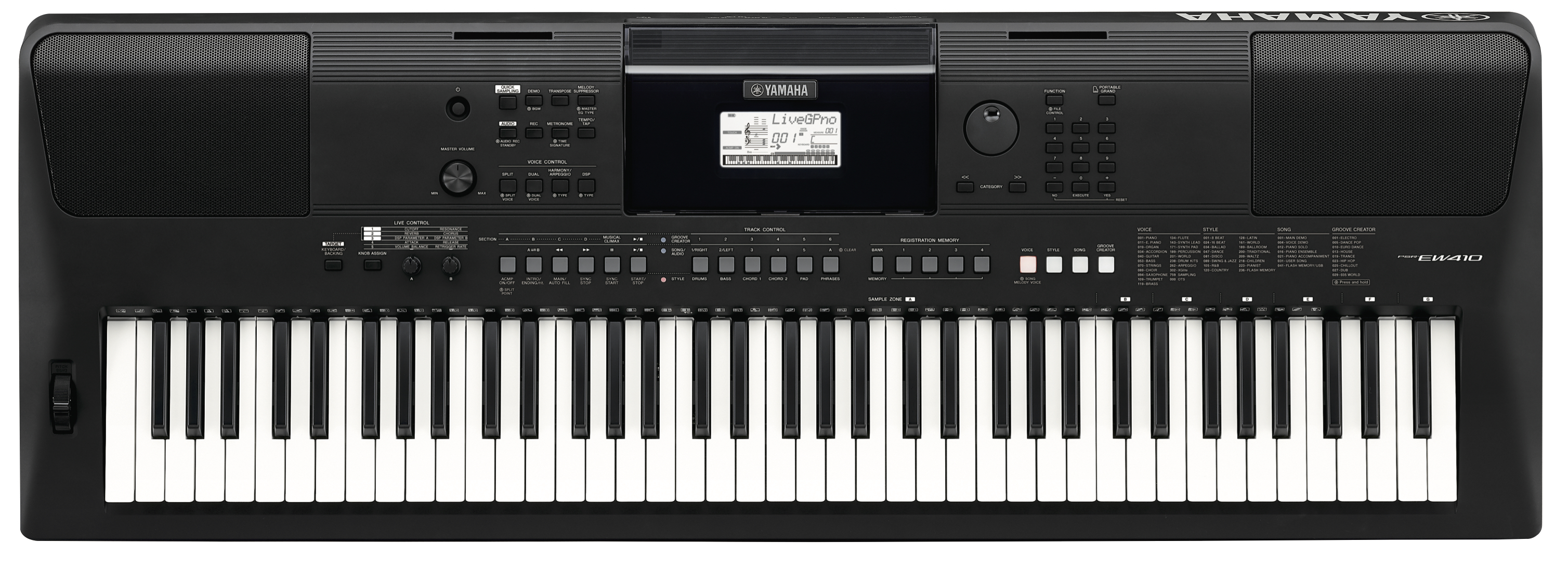 Yamaha introduces the psr ew410 and psr e463 powerful for Yamaha learning keyboard