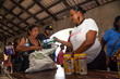 Cane Bay Cares volunteers served thousands of St. Croix residents on Saturday, Jan. 20, delivering more than 50,000 pounds of aid donated through the #BStrongGlobalBetter movement. Photo Credit: Anduze Visuals