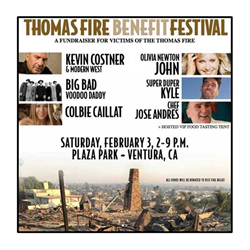 Thomas Fire Benefit Festival Feb 2018