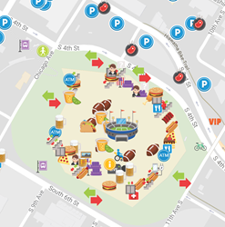 Ab inbev backed mapping app paranoid fan to launch emoji maps with ab inbev backed mapping app paranoid fan to launch emoji maps with prizes for super bowl lii sciox Gallery