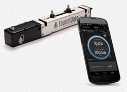 Orcas SP flowmeter and companion mobile app.