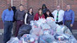 Public Service Credit Union Collects 7,238 Pairs of Socks for Local Homeless Shelters