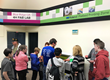 Image of students at the Blue Ridge/University of Arizona 4-H Fab Lab Grand Opening event.