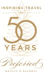 Preferred Hotels' 50th Anniversary Logo