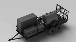Trailer Mounted Station - 6.5 kW Generator with 30 foot Light Tower - 11 kW Diesel Generator - Welder - Air Compressor