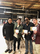 3Dimensional and Manager Willie Stewart displaying gift of cryptocurrency received from Haracoin similar to gifts given to many other celebrities during the 2018 Sundance Film Festival