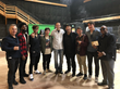 Team 3D celebrates the conclusion to a successful Haracoin pre-ico party with Director Lee Baker and Director Dallas Santana