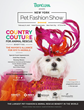 "New York Pet Fashion Show Presented by TropiClean: Kick Off Fashion Week & Westminster Weekend with""Country Couture for Animal Rescue"" Feb 8th,2018 Hotel Pennsylvania NYC"