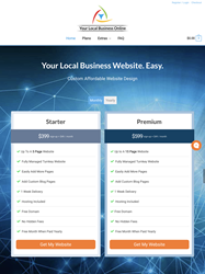 Your Local Business Online Affordable Custom Turnkey Website Design Home Page