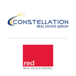 Constellation Real Estate Group and Real Estate Digital co-branded logos