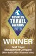 FCM Triumphs at Business Travel Awards winning Best Travel Management Company