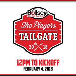 With Super Bowl 52 just days away, details for Bullseye Event Group's signature Players Tailgate at the Super Bowl is finalized and bigger and better than ever before.