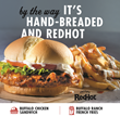 Wayback Burgers Brings the Heat with New Hand-Breaded Buffalo Chicken Sandwich