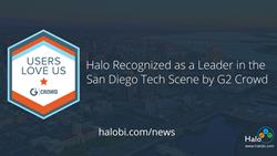 Halo Recognized as a Leader in the San Diego Tech Scene by G2 Crowd