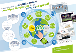 LEO Learning and RWS have partnered to deliver a full-service digital content solution to market