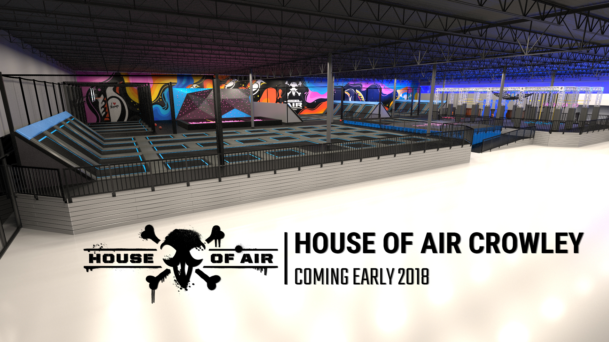 House Of Air Trampoline Parks Expand To Texas