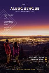 Visit Albuquerque Releases 2018 Official Albuquerque Visitors Guide