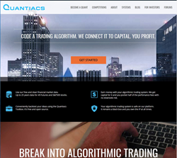 The largest marketplace for trading algorithms