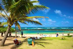 kauai beaches, kauai parks, kauai ocean, kapaa, royal coconut coast