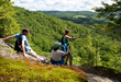 Three levels of guided hikes are offered each day
