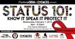 Status 101 Know It Speak It Protect It