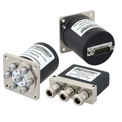 Electromechanical Switches with D-SUB Connectors