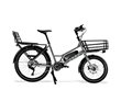 Unlike other electric bikes on the market, CERO One offers a custom-designed 12-way modular cargo system riders can mix and match to meet their needs