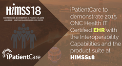 iPatientCare to participate in HIMSS18