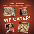 Customized Catering Like No Other at Dusal's Italian Restaurant & Pizzeria