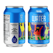 CW4K Drinking water in aluminum can