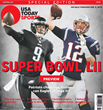 USA Today Special Edition Super Bowl Preview Cover