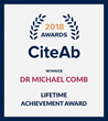 Dr. Michael J. Comb Receives CiteAb Lifetime Achievement Award