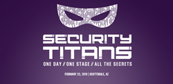 Ad for Security Titans Conference in Phoenix, Arizona.