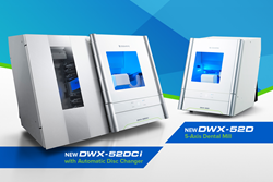 Image of Roland's New DGSHAPE DWX-52DCi and DWX-52D dental milling machines.