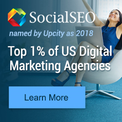 SocialSEO Earns Spot in Top 1% of US Digital Marketing Agencies for 2018
