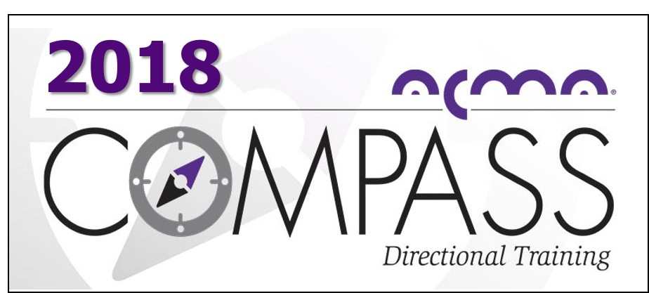 Acma Announces New Release Of Compass Directional Training For