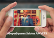 "AMVETS' #PleaseStand Campaign to Premiere During ""Big Game"" Inside Super Squares™ App"