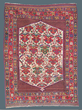 "Ashfar Rug: Southwest Persia, Late 19th Century, 4' x 5'6""; Courtesy Peter Pap Oriental Rugs"