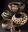 Indigenous Panamanian Baskets, courtesy Rainforest Baskets