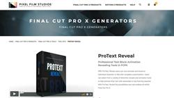 ProText Reveal - Pixel Film Studios Plugins - FCPX Plugins